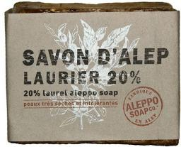 Aleppo Soap Mydło w kostce 20% oleju laurowego 200g