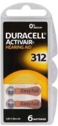 Duracell Bateria Słuchowa HA312