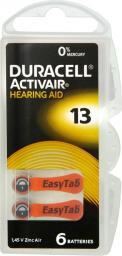 Duracell Bateria do aparatów słuchowych PR48 290mAh 6szt.