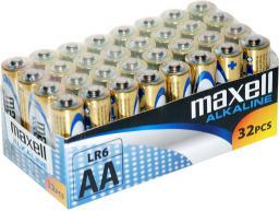 Maxell Baterie alkaliczne LR06 / AA, 32 szt. (790261.04.CN)