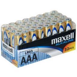 Maxell Baterie  LR03/AAA 32 sztuki (790260.04.CN)