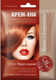 Fitocosmetics Kremowa Henna MIEDZIANO-RUDA z olejkiem łopianowym