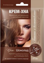 Fitocosmetics Kremowa Henna CZEKOLADA z olejkiem łopianowym 50 ml