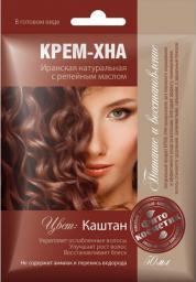 Fitocosmetics Kremowa Henna KASZTAN z olejkiem łopianowym