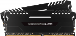 Pamięć Corsair Vengeance LED, DDR4, 16GB,2666MHz, CL16 (CMU16GX4M2A2666C16)