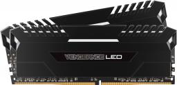 Pamięć Corsair Vengeance LED, DDR4, 32GB,2666MHz, CL16 (CMU32GX4M2A2666C16)