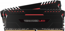 Pamięć Corsair Vengeance LED, DDR4, 32 GB,2666MHz, CL16 (CMU32GX4M2A2666C16R)