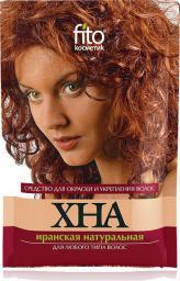 Fitocosmetics Naturalna henna irańska czerwona do wszystkich rodzajów włosów 25g