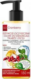 GoCranberry  Odżywcze oczyszczenie - olejek do demakijażu twarzy i oczu 150 ml
