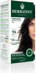 Herbatint NATURALNA trwała farba do włosów - GŁĘBOKA CZERŃ 1N