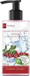 GoCranberry  Micelarny żel do mycia twarzy i demakijażu 150ml