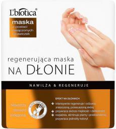 Lbiotica  Maska regenerująca na dłonie w postaci nasączonych rękawiczek 1 para