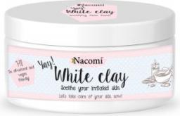 Nacomi Naturalna glinka biała (kaolin) o działaniu nawilżającym i łagodzącym 50 g