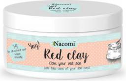 Nacomi Naturalna glinka czerwona o działaniu oczyszczającym i wyrównującym koloryt 100ml
