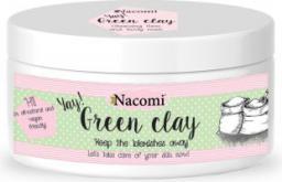 Nacomi Naturalna glinka zielona o działaniu głęboko oczyszczającym i ściągającym 65 ml