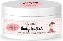 Nacomi Kremowe, nawilżające i pielęgnujące masło do ciała dla kobiet w ciąży 100ml