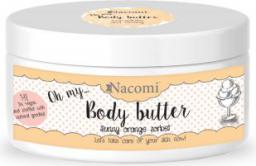 Nacomi Balsam do ciała z masłem SHEA i olejkiem Macadamia - POMARAŃCZOWY 100ml