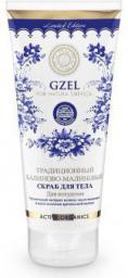 Natura Siberica GZEL - Scrub do ciała o działaniu wyszczuplającym kalinowo-malinowy
