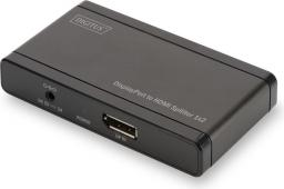 Digitus Splitter DisplayPort do 2xHDMI 4K UHD 3D, 2-portowy (DS-45400)