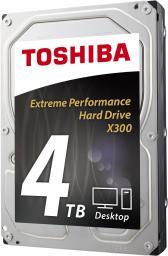 """Dysk Toshiba 4 TB 3.5"""" SATA III X300 (HDWE140UZSVA)"""