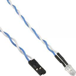 InLine HDD LED Niebieski 5mm 0.8m (59910A)