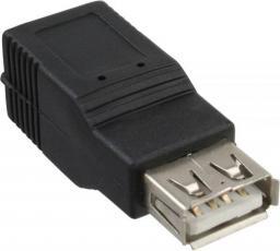 Adapter USB InLine USB A - USB B Czarny (33500)
