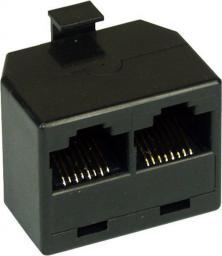 InLine Gniazdo ISDN rack 1x RJ45 męski - 2x RJ45 żeński w/o terminal resistor (69934)