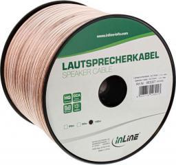 Przewód InLine Kabel głośnikowy 2x 2.5, 100m (98300T)