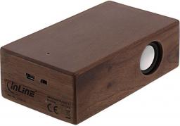 Głośnik InLine woodbrick (55381H)
