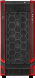 Obudowa SilverStone Redline RL05 Midi-Tower, Czarno-czerwony, Okno (SST-RL05BR-W)