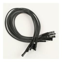 Nanoxia Kabel Panel frontowy 30 cm, carbon - NXFPV3EC