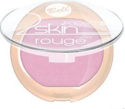 """BELL Róż do policzków """"2 Skin"""" Pocket Rouge nr 052  4.5g"""