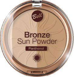 BELL Puder brązująco-rozświetlający Bronze Sun prasowany nr 020  9g