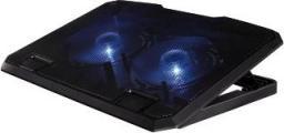 Podstawka chłodząca Hama Pod notebooka czarna (000530650000)