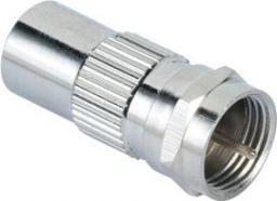 Hama Adapter Wtyk Antenowy - Wtyk F (001224850000)