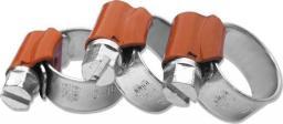 Bradas Opaska ślimakowa Force Orange do węża do gazu 10-16mm
