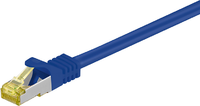 MicroConnect CAT 7 S/FTP  RJ45 BLUE 0.50m (SFTP7005B)