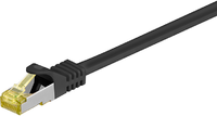 MicroConnect Patchcord CAT 7,  S/FTP,  czarny,  30m (SFTP730S)