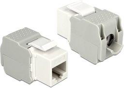 Delock Delock Keystone Module RJ45 female > LSA Cat.6 UTP white - 86341