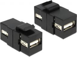 Delock USB - USB Czarny (86367)
