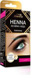 Joanna Henna do brwi i rzęs kremowa nr 1.0 czarna 15 ml