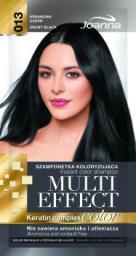 Joanna Multi Effect Color Keratin Complex Szamponetka 13 Hebanowa Czerń  35 g