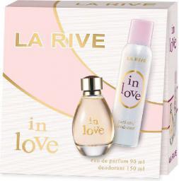 La Rive for Woman In Love Zestaw (woda perfumowana 90ml + dezodorant 150ml)