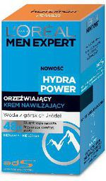 L'Oreal Paris Loreal Men Expert Hydra Power Krem nawilżająco-orzeźwiający  50ml - 0285860
