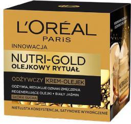 L'Oreal Paris Dermo Nutri Gold Olejkowy Rytuał Krem-olejek odżywczy 50ml