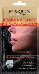 Marion Spa Maska na twarz Głęboko oczyszczajaca 15ml