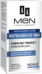 AA Cosmetics Men Adventure Care Krem do twarzy Intensive 50+ odbudowujący 50ml