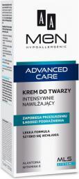 AA Cosmetics Men Advanced Care Krem do twarzy intensywnie nawilżający  75ml