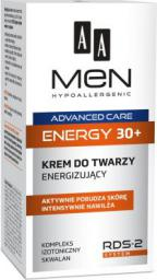 AA Cosmetics Men Adventure Care Krem do twarzy Energy 30+ energizujący 50ml