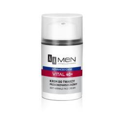 AA Cosmetics Men Advanced Care Krem do twarzy Vital 40+ przeciwzmarszczkowy  50ml - 055261